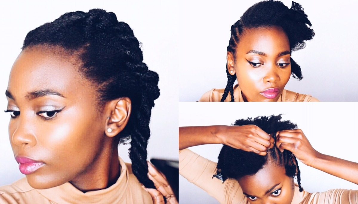 How to Prep Natural Hair BEFORE Braiding | Protective Styling